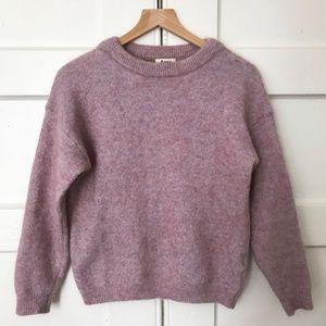 Authentic Acne Studios Pink Raze Mohair Sweater